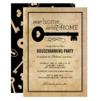 Housewarming Party | New Home Sweet Home Invitation