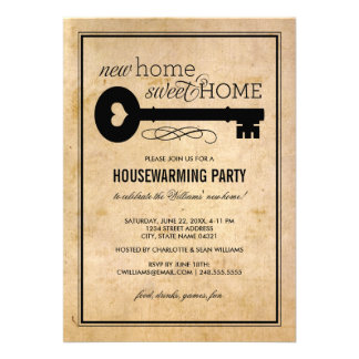 Housewarming Party   New Home Sweet Home Invites