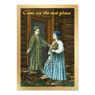 Housewarming Vintage Invite