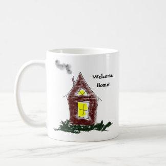 Housewarming Welcome Home To Your New Apartment Classic White Coffee Mug