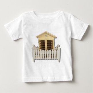 HouseWhitePicketFence082510 Baby T-Shirt
