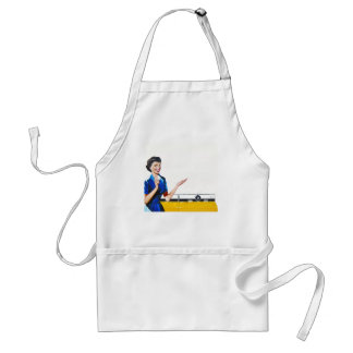 Housewife and New Washer Adult Apron