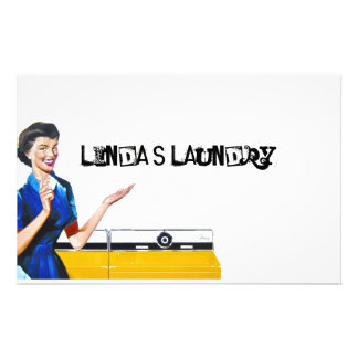 Housewife and New Washer Stationery