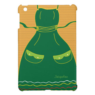 Housewife Apron Funny Female iPad Case
