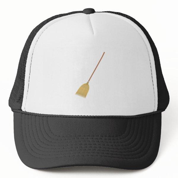 housewife broom Funny Halloween costume couples Trucker Hat