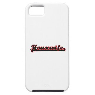 Housewife Classic Job Design iPhone 5 Cover