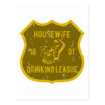 Housewife Drinking League Post Cards