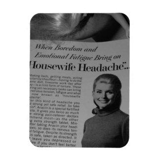 Housewife Headache Magnet