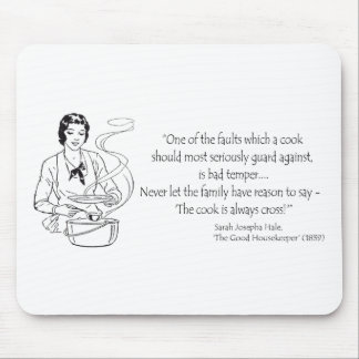 Housewife Humor Mouse Pad
