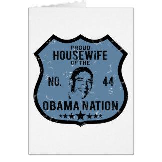 Housewife Obama Nation Card