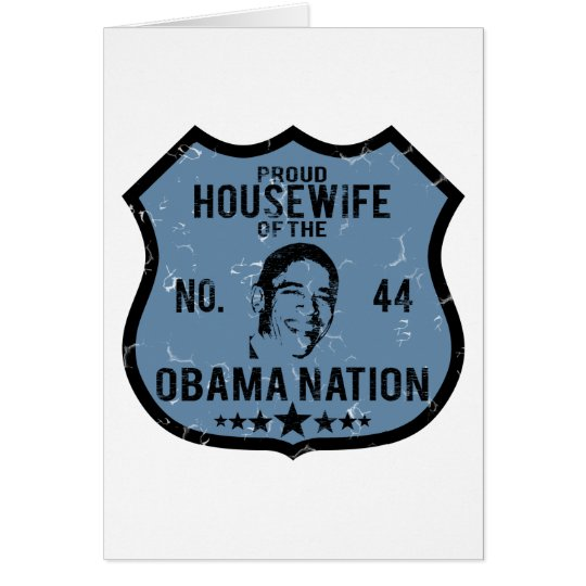 Housewife Obama Nation Card