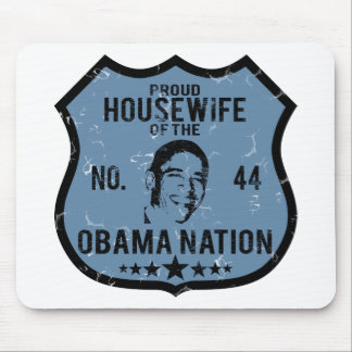 Housewife Obama Nation Mouse Pads