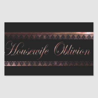 Housewife Oblivion Sticker