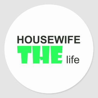 Housewife - THE Live Classic Round Sticker
