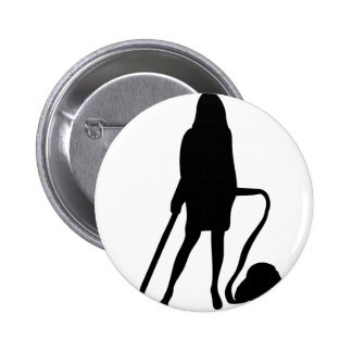 housewife - vacuum cleaner - cleaning button