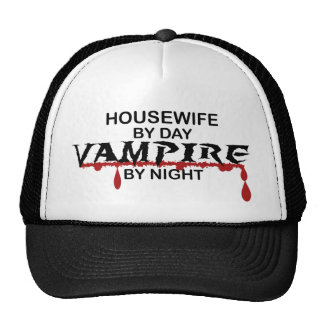 Housewife Vampire by Night Trucker Hat