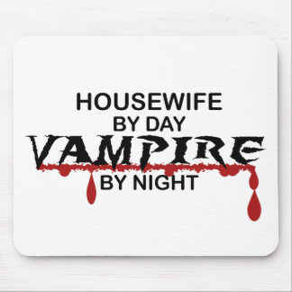 Housewife Vampire by Night Mouse Pads