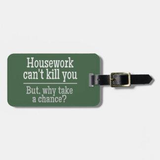 HOUSEWOK custom luggage tag