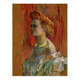 Housewoman by Toulouse-Lautrec Postcard