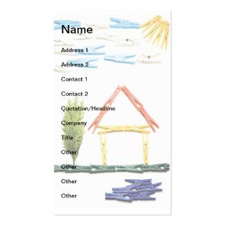 Housework Business Card