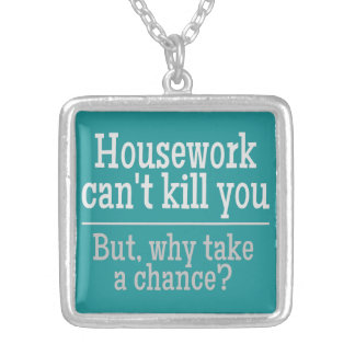 HOUSEWORK custom color necklace