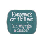HOUSEWORK custom tins & jars Candy Tin