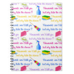 Housework Notepad Spiral Note Books