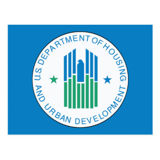 Housing and Urban Development Postcard