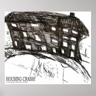 HOUSING CRASH POSTER