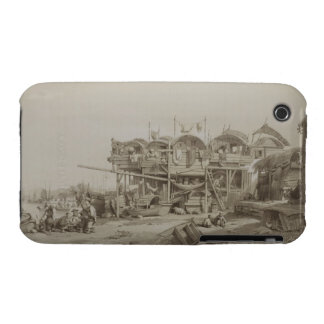 Housing for the Poor in the Inner Port of Macao, p iPhone 3 Covers