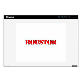 "Houston 12"" Laptop Skin"