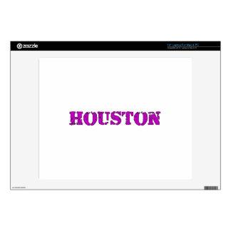 """Houston 14"""" Laptop Decals"""