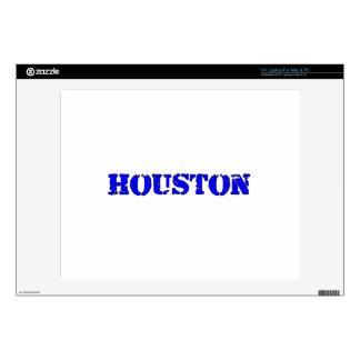 "Houston 14"" Laptop Skins"