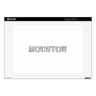 "Houston 15"" Laptop Decal"