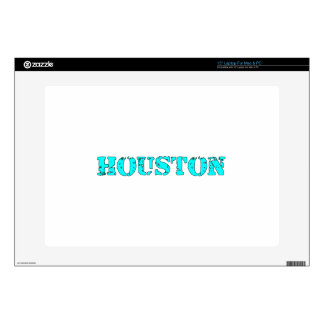 "Houston 15"" Laptop Skin"