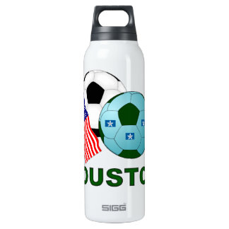 Houston 16 Oz Insulated SIGG Thermos Water Bottle