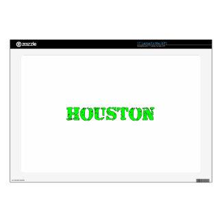 "Houston 17"" Laptop Skin"