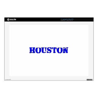 "Houston 17"" Laptop Skins"