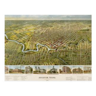 Houston 1891 postales