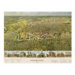 Houston 1891 tarjeta postal