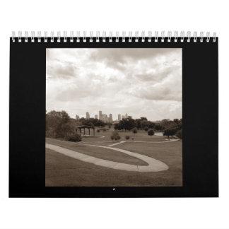 Houston 2008 - II modificado para requisitos Calendarios De Pared