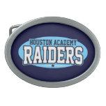Houston Academy; Raiders Belt Buckle