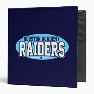 Houston Academy; Raiders Binders