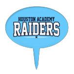 Houston Academy; Raiders Oval Cake Pick