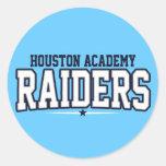 Houston Academy; Raiders Stickers