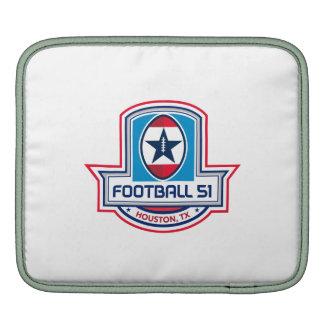 Houston American Football 51 Stars Crest Retro Sleeve For iPads