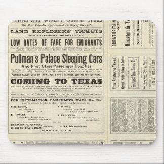 Houston and Texas Central Railway through Texas Mouse Pad