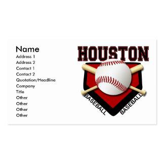 HOUSTON BASEBALL BUSINESS CARDS