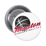 Houston Basketball Buttons