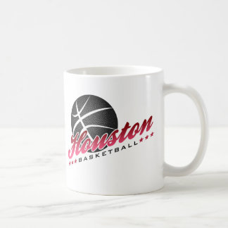 Houston Basketball Coffee Mug